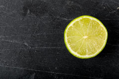 Halved lime Royalty Free Stock Photo