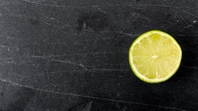 Halved lime Stock Images