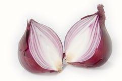 Halved onion Royalty Free Stock Photo