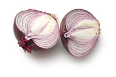Halved onion Royalty Free Stock Images