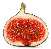 Halved ripe figs Royalty Free Stock Photos