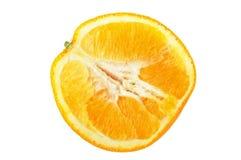 Halved ripe fresh orange Royalty Free Stock Photo