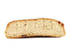 Halved rye bread Stock Photography