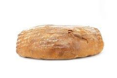 Halved rye bread Stock Image