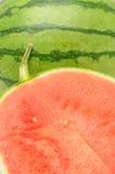 Halved watermelon Stock Photo
