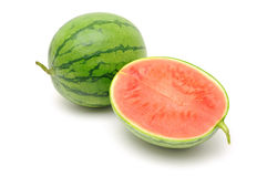 Halved watermelon Royalty Free Stock Photos