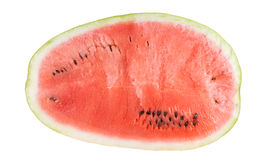 Halved watermelon Stock Images