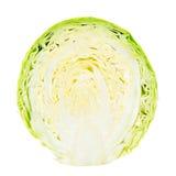 Halverad grön kål Royaltyfri Fotografi