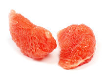 Halverar grapefrukten Arkivbilder