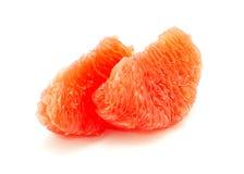 Halverar grapefrukten Fotografering för Bildbyråer