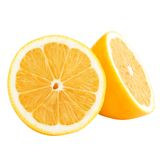 halves citronen Royaltyfri Fotografi