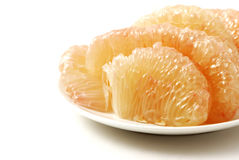 Halves grapefruit Royalty Free Stock Photos
