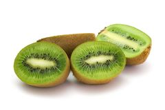 Halves of kiwi 2 Royalty Free Stock Images