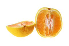 Halves of Orange Stock Photography