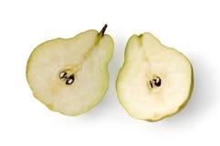 halves pears två arkivfoto