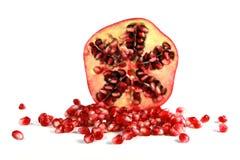 halves pomegranate 2 Стоковое Изображение RF