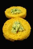 halves scone тыквы Стоковое Фото