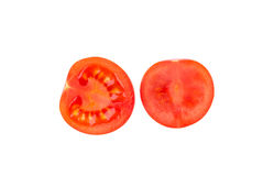 Halves of tomato. Stock Photography
