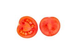 Halves of tomato. Stock Photography