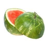 Halves of watermelon Stock Photo