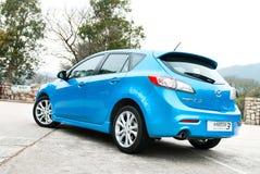Halvkombi Mazda3 Arkivfoton
