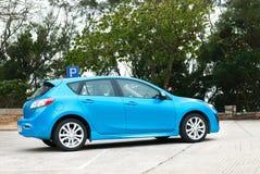 Halvkombi Mazda3 Arkivbilder