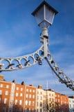 Halvpennymyntbro, Dublin Arkivfoto