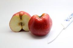Halvt äpple Royaltyfria Bilder
