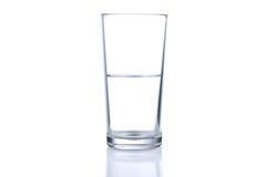 Halvt exponeringsglas av bevattnar Royaltyfri Foto