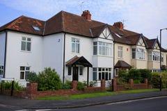 Halvt småhus för typisk 30-tal Royaltyfria Bilder