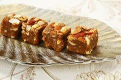Halwa Burfi Indian Sweet Royalty Free Stock Photo