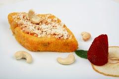 Halwa de la zanahoria Fotografía de archivo libre de regalías