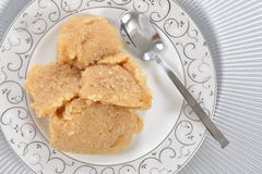 Halwa semolina Royalty Free Stock Photo