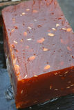 Halwa - Tradycyjny cukierki Zachodni Bengalia. Fotografia Stock