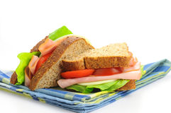 Free Ham And Cheese Sandwich Stock Photos - 10835283