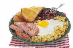 Ham And Eggs Royalty Free Stock Photo