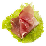 Ham And Lettuce Stock Image