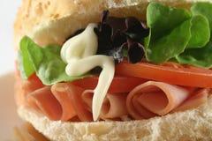 Free Ham And Salad Roll 9 Stock Photos - 3781953