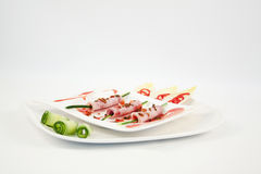 Ham Appetizer Royalty Free Stock Photography