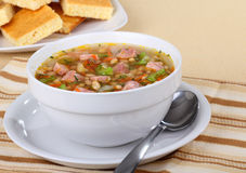 Ham and Bean Soup Stock Photography