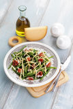 Ham and beans salad Royalty Free Stock Photos