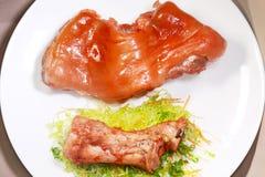 Ham and bone  Stock Photo