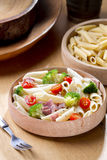 Ham Broccoli Pasta Fotos de Stock