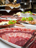 Ham Buffet Royalty Free Stock Photo