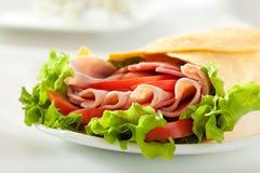 Ham Burrito Lizenzfreie Stockfotografie
