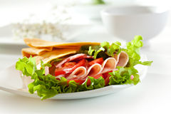 Ham Burrito Royalty Free Stock Photo