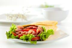 Ham Burrito Stock Image