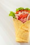Ham Burrito Royalty Free Stock Photography