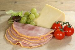 Ham and Cheese Royalty Free Stock Photos