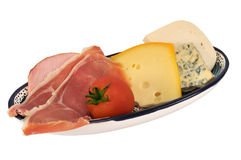 Ham and cheese Royalty Free Stock Photography